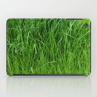 grass iPad Cases featuring grass by Кaterina Кalinich