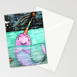 Narwhal Wish Stationery Cards