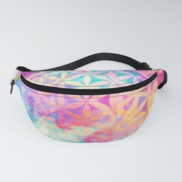 Within Nature (Flower Of Life) Fanny Pack