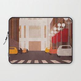 New York Manhattan watercolor Laptop Sleeve