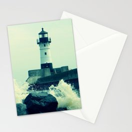 Breakwater Lighthouse - 2 Stationery Cards