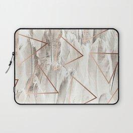 Feathers & Copper #society6 #decor #buyart Laptop Sleeve