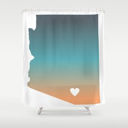 Arizona - Tucson Shower Curtain