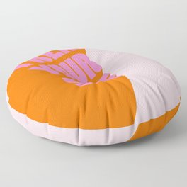 Treat Yourself | Peach Floor Pillow