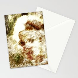 Past Life, The Model #02 Stationery Cards