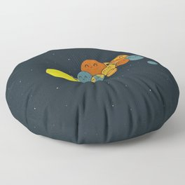 Photo Group Planets Floor Pillow