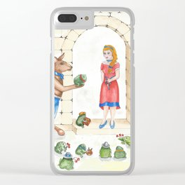 To meet your handsome prince..you need to kiss a lot of toads Clear iPhone Case