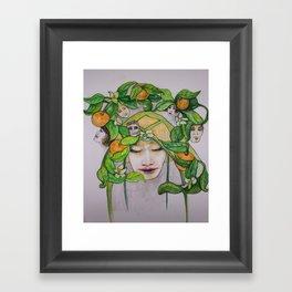 In the Citrus Family Framed Art Print