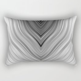 stripes wave pattern 3 bwgri Rectangular Pillow