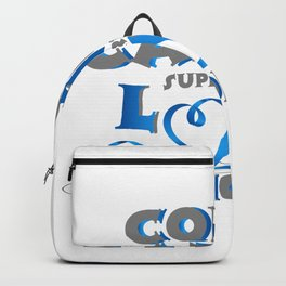 Hope Support Colon Cancer Awareness Gift Backpack