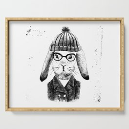 Hiphop Beanie Bunny Top Serving Tray