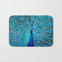 Peacock  Blue 11 Bath Mat