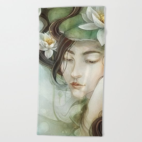 Pond Beach Towel