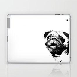 Portrait of Hugo the Pug Laptop & iPad Skin