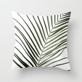 Palm Leaves 8 Throw Pillow