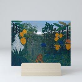 "Henri Rousseau ""The Repast of the Lion"", 1907 Mini Art Print"