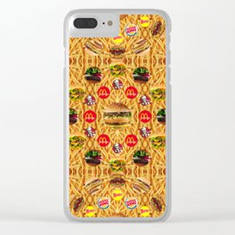 ALL YOU CAN EAT WALLPAPER 1 Clear iPhone Case