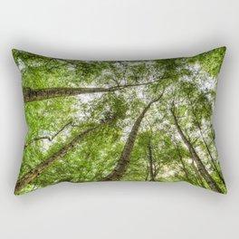 Nature Reaching For The Sky Rectangular Pillow