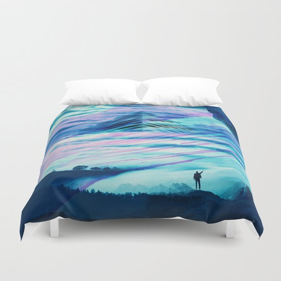 Pyramid Isolation Duvet Cover