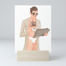 Only Good News Today Mini Art Print