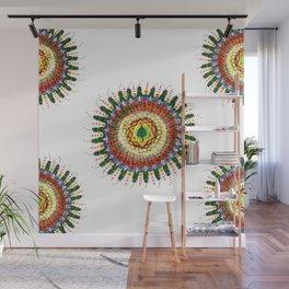 Gaia Mandala Wall Mural