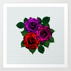 C13D Everything rosy 5 Art Print