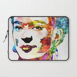 Frida Kahlo Grunge Laptop Sleeve