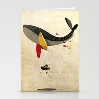 fly Stationery Cards featuring I believe i can fly by Riccardo Guasco