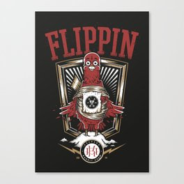 FLIPPIN BIRDS Canvas Print
