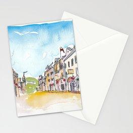 Mackinac Main Street Michigan Stationery Cards