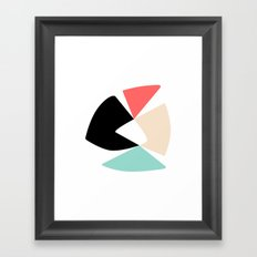Pinwheel Framed Art Print