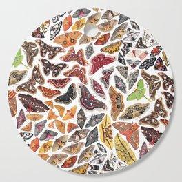 Saturniid Moths of North America Pattern Cutting Board
