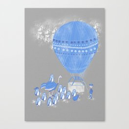 Baloon rides Canvas Print