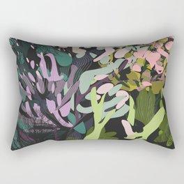 Forest Blooms Rectangular Pillow