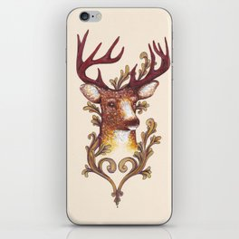 Stag Illustration 1/6 iPhone Skin