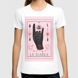 Le Diable or The Devil Tarot T-shirt