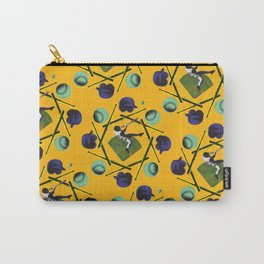 pop pattern_baseball Carry-All Pouch