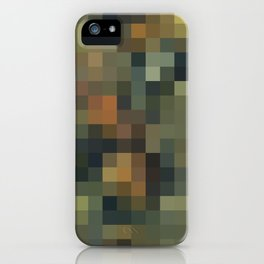 ROCK AND WATER MOSAIC iPhone Case