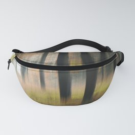 Autumn whispering painted with the camera Fanny Pack