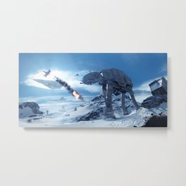 Battlefront Wars Metal Print