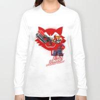 rocket raccoon Long Sleeve T-shirts featuring Rocket Raccoon by Markusian