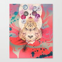 psychedelic Canvas Prints featuring Psychedelic by Pepe Psyche