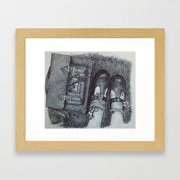 Nature Nurture (vintage) Framed Art Print