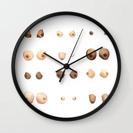 Boobies. Wall Clock