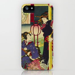 A day of twelve months in Yoshiwara iPhone Case