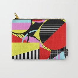 Retro Geometry - Geometric, abstract, bold design Carry-All Pouch