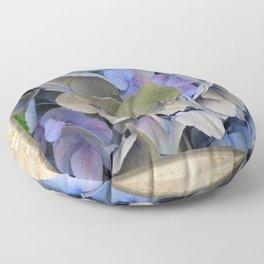 Hydrangea Floor Pillow