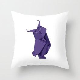 Origami Owl Throw Pillow
