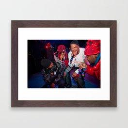Wu-Tang Clan, 2010. Framed Art Print