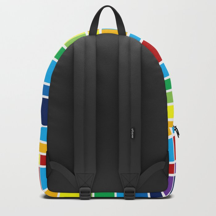 Fuzz Outline Backpack